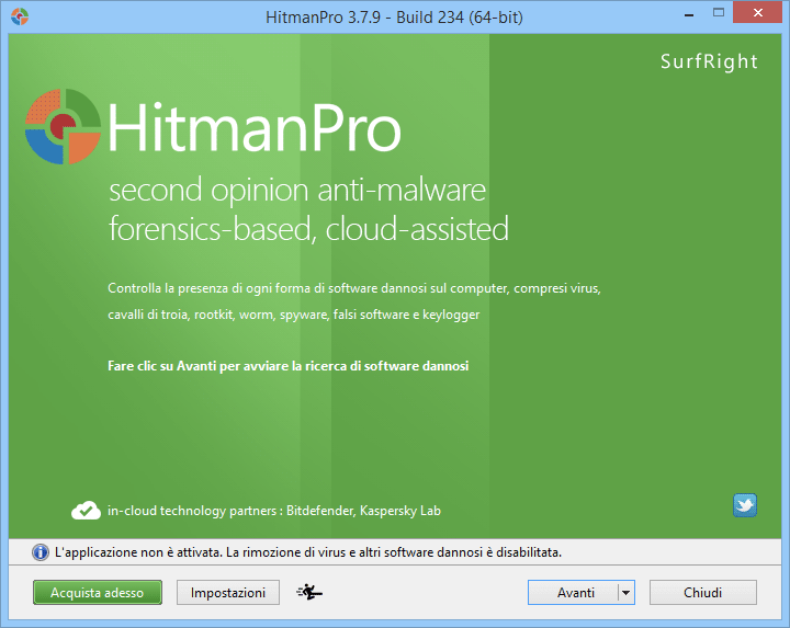 Eliminare Ad Options con HitmanPro
