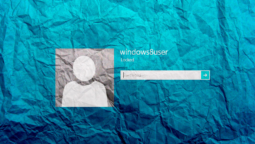 Eliminare la password di Windows 8