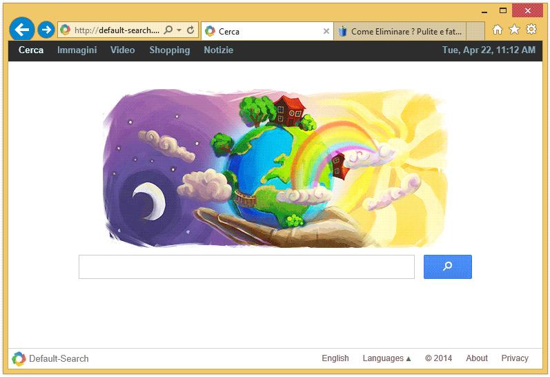 eliminare default-search.net
