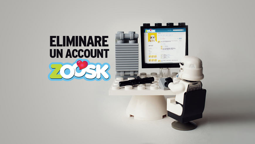 eliminare un account zoosk