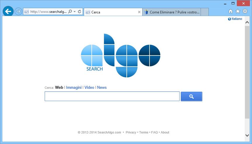 eliminare searchalgo