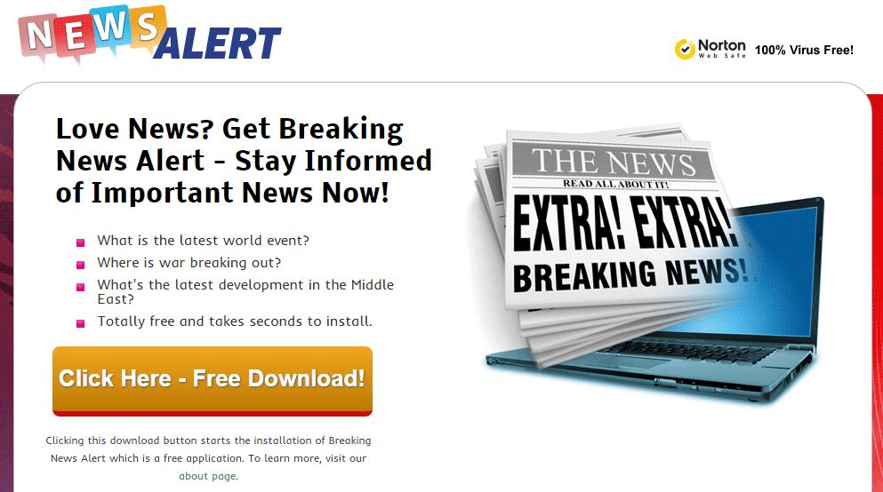 breaking news alert