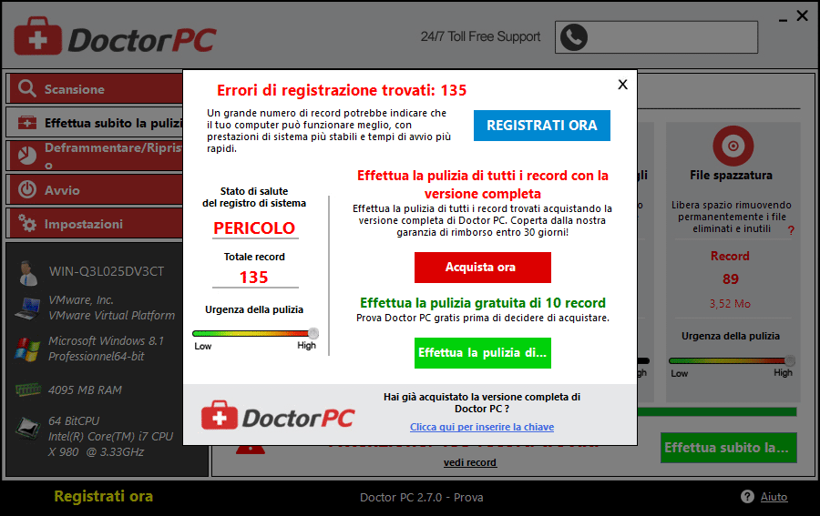 eliminare doctor pc acquista
