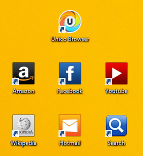 icone unico browser