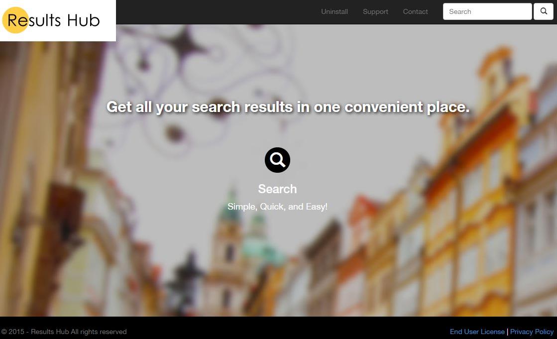 results hub